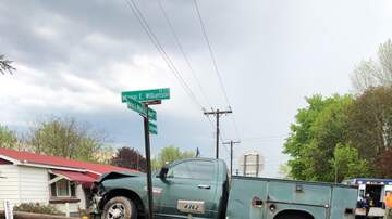 Kimberly and Beck - PICS: Drunk Driver Takes Out Utility Pole In Marion