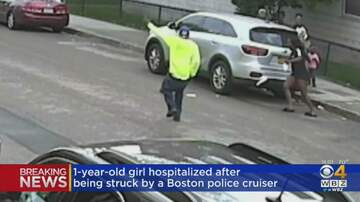 Matty in the Morning - Toddler Clipped By Boston Police Cruiser