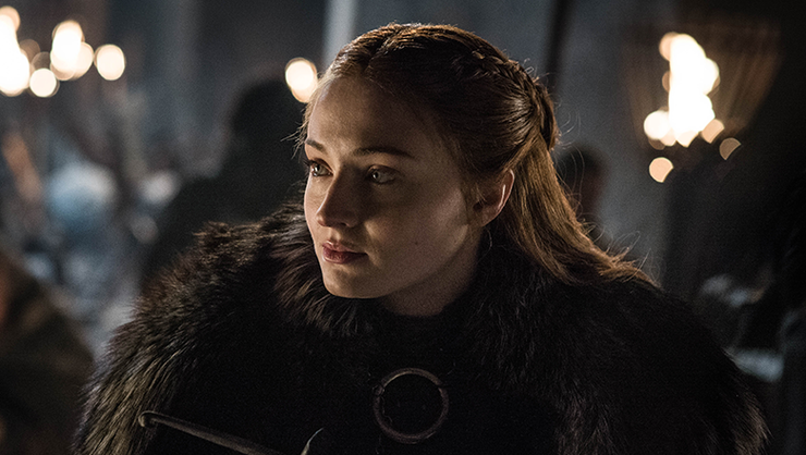 Sophie Turner Had A Game Of Thrones Spoiler Tattooed On Her Arm For A Year | iHeartRadio