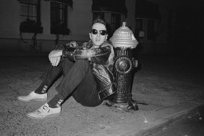 Strummer In New York