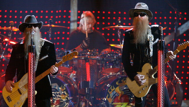 ZZ Top Planning 'Sharp Dressed Man' Musical