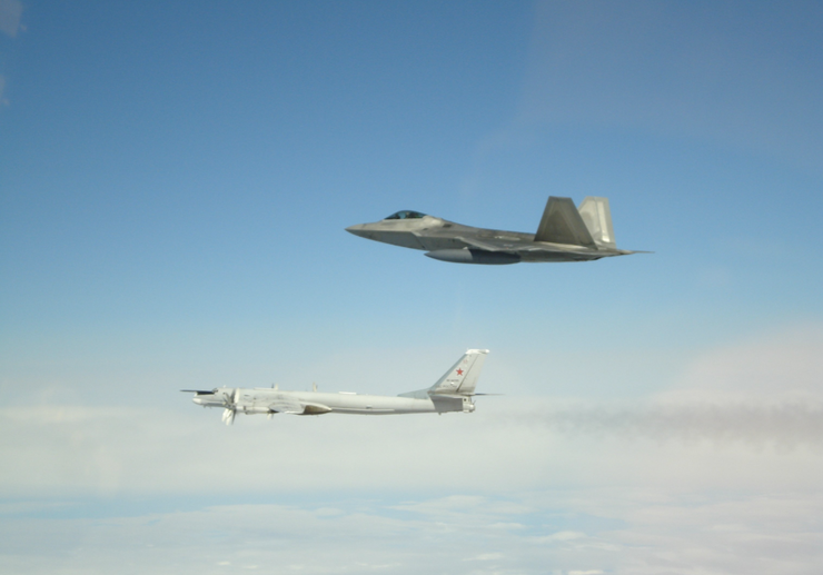 U.S. Intercepts Russian Bombers, Fighter Jets Off Coast of Alaska | iHeartRadio