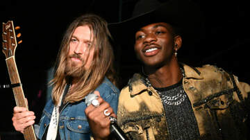 iHeartRadio Music News - Lil Nas X Postmates 'Old Town Road' Collaborator Billy Ray Cyrus A Maserati