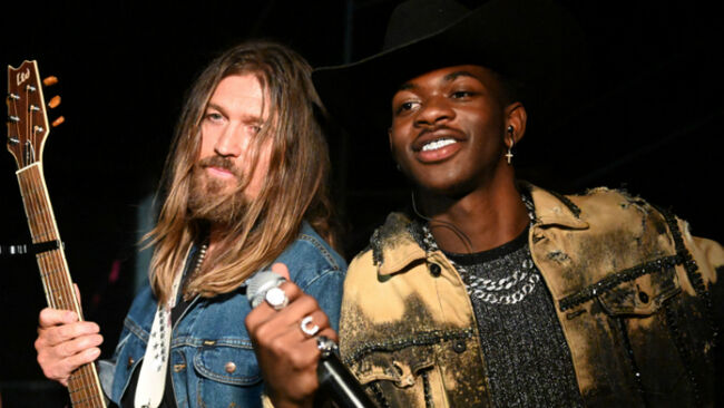 Lil Nas X Postmates 'Old Town Road' Collaborator Billy Ray Cyrus A Maserati