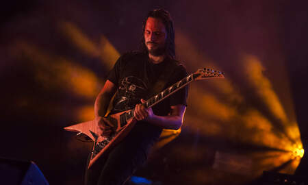 Rock News - Gojira Guitarist Gets Hit In Face By Pyro, Finishes Set Anyway