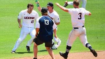 Baseball - UConn Baseball gets 1st Walkoff win of season at AAC Tournament