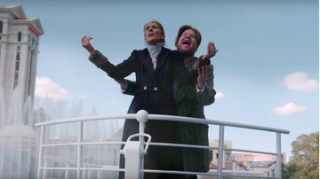 iHeartRadio Music News - Celine Dion Recreates 'Titanic' Scene, Gifts Shoes On 'Carpool Karaoke'