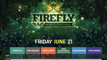 image for Firefly Music Festival Daily Schedule