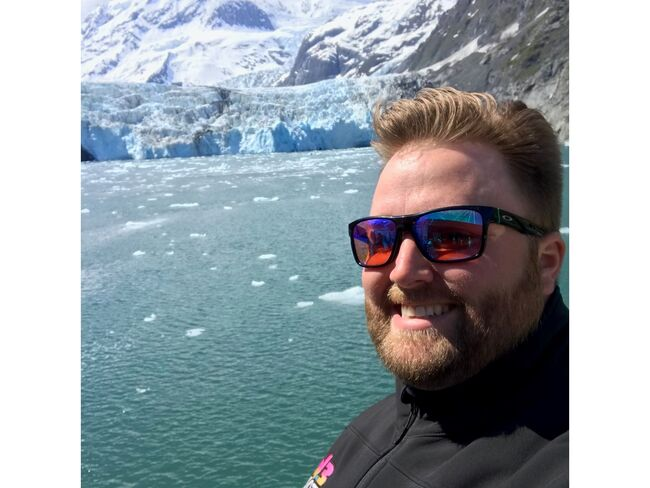 CaseyB on the 26 Glacier Cruise