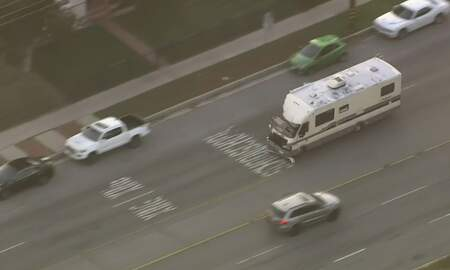 Jake Dill - Man Steals Motor Home and Leads Police on High Speed Chase