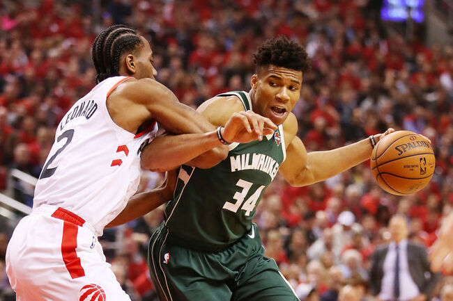 Milwaukee Bucks v Toronto Raptors - Game Four