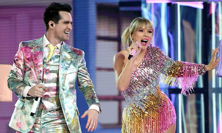 Trending - Taylor Swift & Brendon Urie Dazzle 'The Voice' Finale With 'ME!': Watch