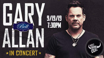None - GARY ALLAN - Live In Concert