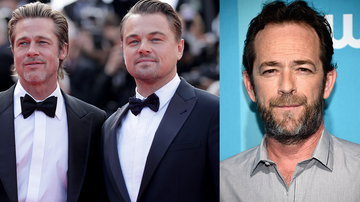 Entertainment News - Brad Pitt And Leonardo DiCaprio Rave About Luke Perry: 'He Was An Icon'