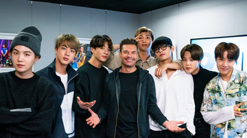 Ryan Seacrest - BTS Talk New Album, Dating and If They'd Ever Embark on Solo Careers