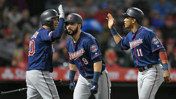 Twins - Twins Bats Break Loose Late in 8-3 win over Angels - @TwinsDaily