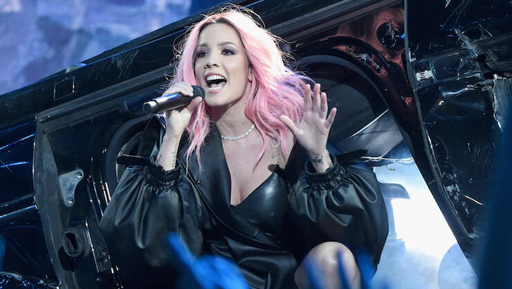 Halsey Offers To Pay Fan's Ticket For Speeding While Blasting 'Nightmare' | iHeartRadio
