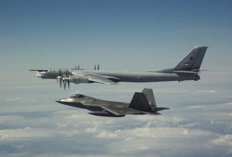 US Intercepts Russian Bombers Off Alaska Coast For Second Time in Two Days  | iHeartRadio