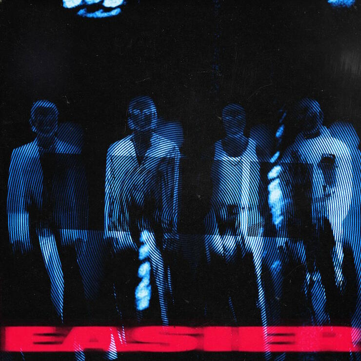 "5 Seconds of Summer - ""Easier"" Single Cover Art"