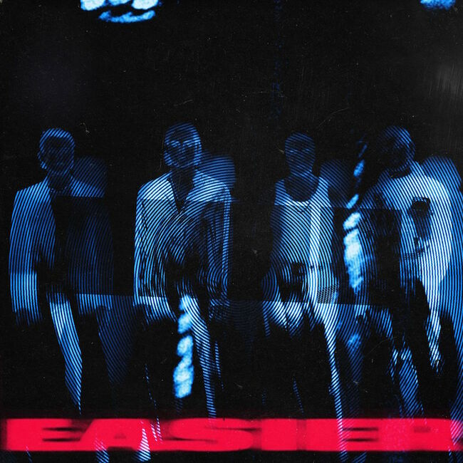 "5 Seconds of Summer - ""Easier"" Single Cover Art"