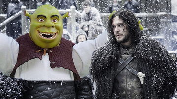 Entertainment News - Photos Seem To Prove Theory That 'Game Of Thrones' Was Based On 'Shrek'