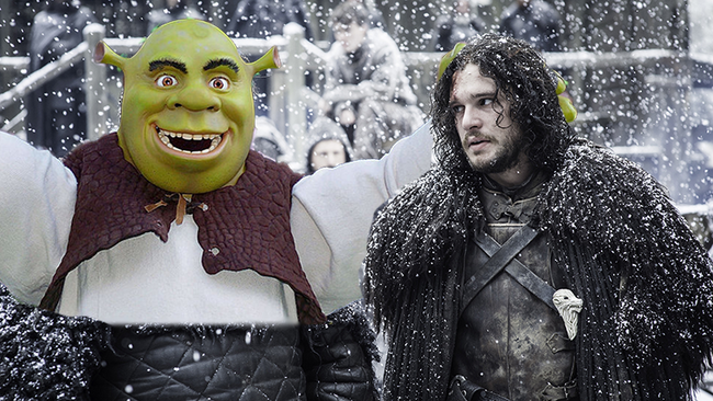 Photos Seem To Prove Theory That 'Game Of Thrones' Was Based On 'Shrek'