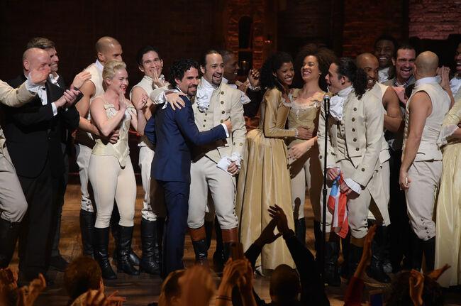 "The 58th GRAMMY Awards - ""Hamilton"" GRAMMY Performance"