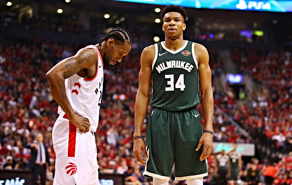 The Raptors and Bucks are the Same One Trick Pony