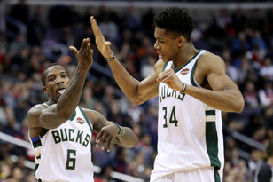 Giannis Antetokounmpo, Eric Bledsoe named NBA All-Defensive First Team