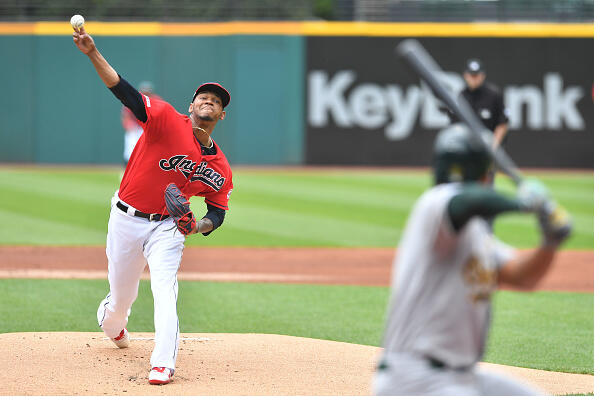 A's Sweep Indians after 7-2 Final