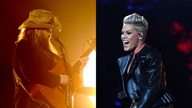 Chris Stapleton + P!nk Surprise Madison Square Garden With Live Duet