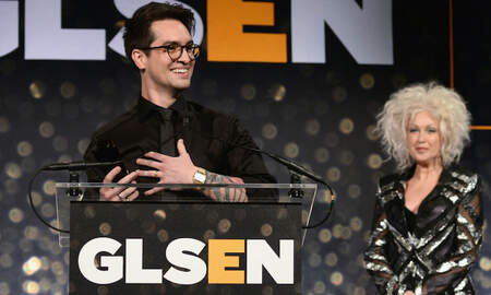 Entertainment News - Brendon Urie Honored With GLSEN Inspiration Award: WAtch