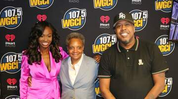 The WGCI Morning Show - Mayor Lori Lightfoot Stops by the WGCI Morning Show