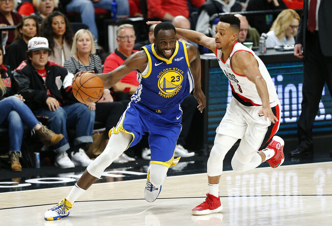 Golden State Warriors v Portland Trail Blazers - Game Three