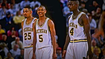 The Herd with Colin Cowherd - Chris Webber Says Juwan Howard's Hiring at Michigan Can Reunite Fab Five