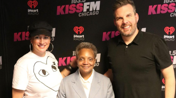 Fred And Angi - Chicago Mayor Lori Lightfoot Stops By Fred + Angi [VIDEO]