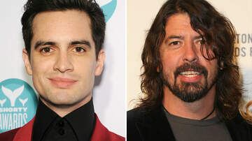Entertainment News - Brendon Urie Reveals How Dave Grohl Inspired His Band's Pre-Show Ritual