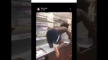 Don Stuck - Viral Video Captures Man Bathing In Wendy's Kitchen Sink