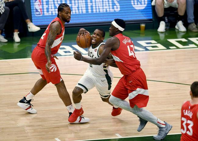 Toronto Raptors v Milwaukee Bucks - Game Five