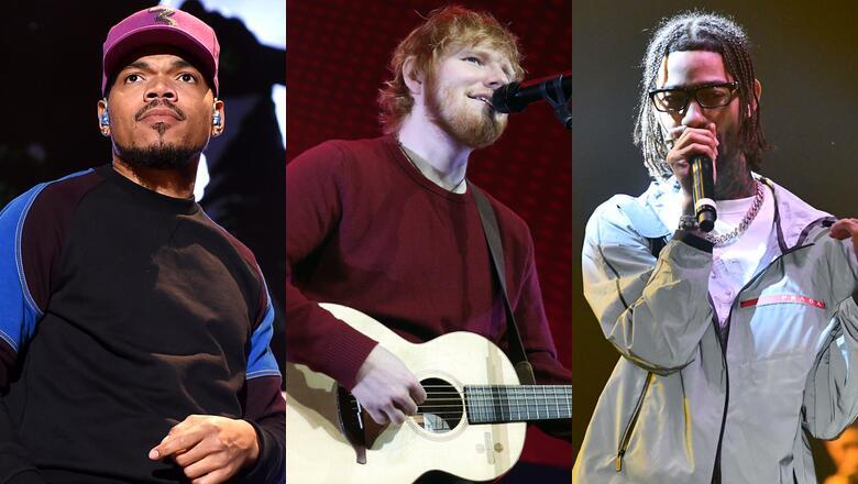 Ed Sheeran Taps Chance The Rapper, PnB Rock For New Bop 'Cross Me'