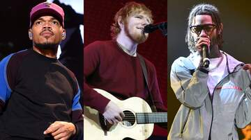 Entertainment News - Ed Sheeran Taps Chance The Rapper, PnB Rock For New Bop 'Cross Me'