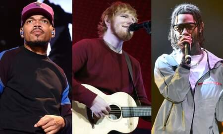 Trending - Ed Sheeran Taps Chance The Rapper, PnB Rock For New Bop 'Cross Me'