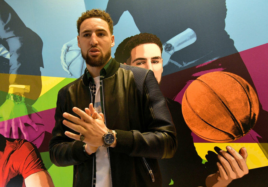 Golden State Warriors' Klay Thompson's Mom Still Buys His Clothes