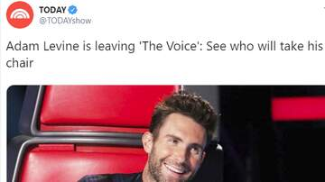 Bree - After 16 Seasons, Adam Levine Is Leaving NBC's The Voice