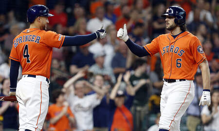 Houston Sports News - Marisnick's Homer and Defensive Gems Lead Astros to 4-3 Win Over Red Sox