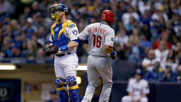Brewers - Phillies rally to defeat Brewers on Friday night 6-4