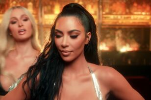Paris Hilton's Bestie Kim Kardashian Appears In Her Sexy New Music Video