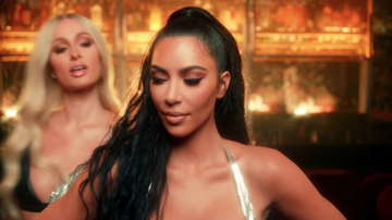 iHeartRadio Music News - Paris Hilton's Bestie Kim Kardashian Appears In Her Sexy New Music Video