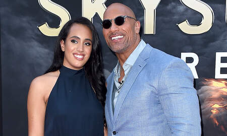 Entertainment News - Dwayne Johnson Shares 'Very Proud' Moment As Daughter Graduates High School
