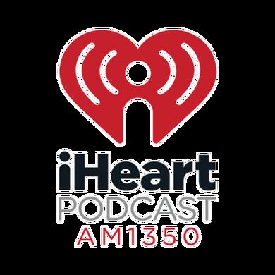 iHeartPodcast AM 1350 logo